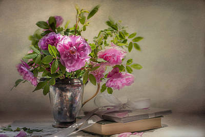 Roses For You  Print by Maggie Terlecki
