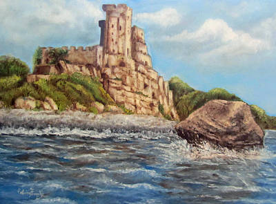 Painting - Roseto Castle by Caterina Frank