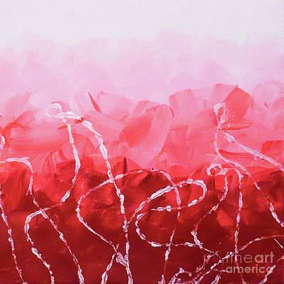 Abstract Handbag Painting - Rosie Ropes by Jilian Cramb - AMothersFineArt