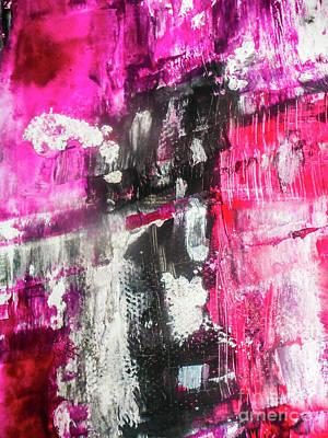 Justine Painting - Rouge by Elle Justine