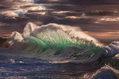 Sea Swell Photograph - Rough Sea 12 by Giovanni Allievi