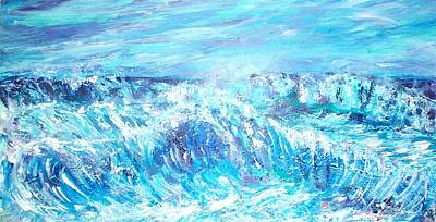 Painting - Rough Waters  by Mary Sedici