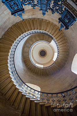 English Cathedrals Photograph - Round And Round by Inge Johnsson
