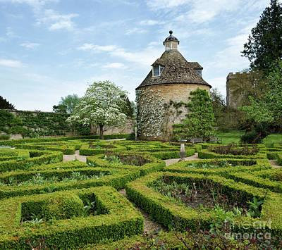 Rousham Gardens In Spring Print by Tim Gainey