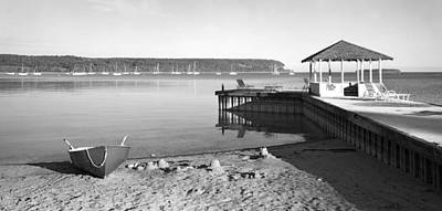Photograph - Row Boat And Dock At Ephriam by Stephen Mack