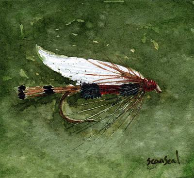 Royal Coachman Wet Fly Print by Sean Seal