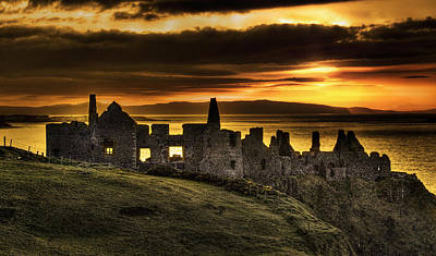 Portrush Photograph - Royal Dunluce by David McFarland