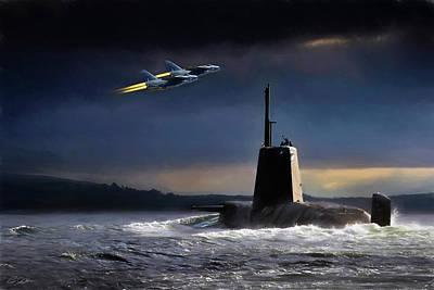 Royal Navy Digital Art - Royal Nights by Peter Chilelli