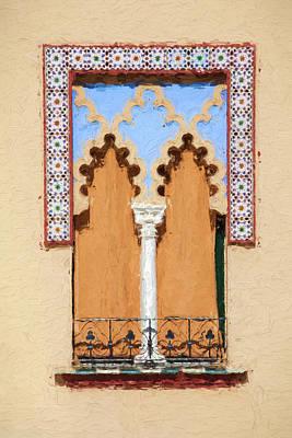 Royal Window Print by David Letts