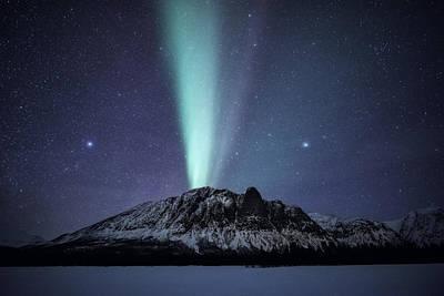 Phenomenon Photograph - Royelkampen by Tor-Ivar Naess