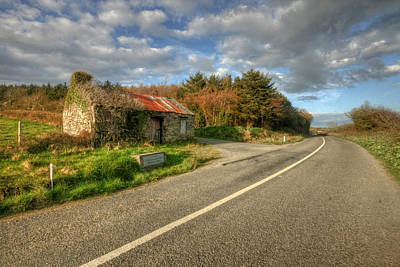 Ruined Cottage Original by John Quinn