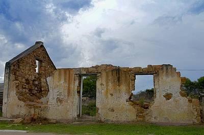 Ruins Mixed Media - Ruins by Danette De Klerk