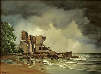 Ruins Near Kenosha Original by Paul Krapf