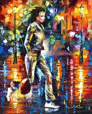Painting - Run - Palette Knife Oil Painting On Canvas By Leonid Afremov by Leonid Afremov