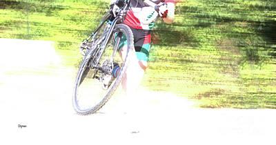 Sports Photograph - Running Bike  by Steven Digman