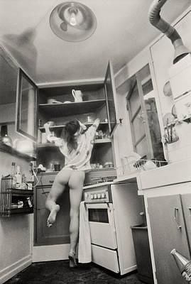 Running Through The Kitchen Print by Philippe Taka