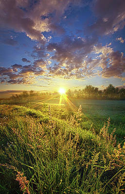 Unity Photograph - Running To Stand Still by Phil Koch