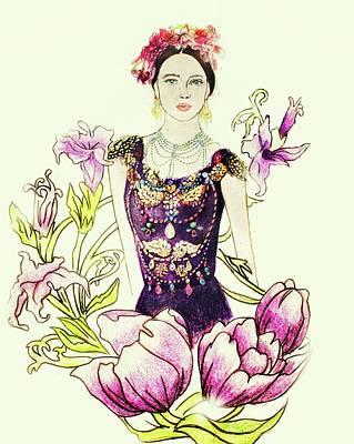 Runway Dolce And Gabbana Print by Maria Boklach