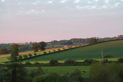 Orange Photograph - Rural England by Rumyana Whitcher