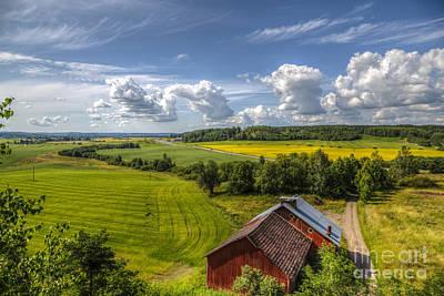 Finland Photograph - Rural Landscape by Veikko Suikkanen