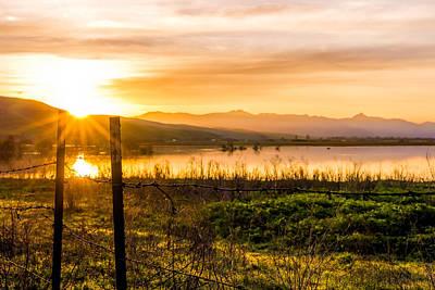 Horizontal Photograph - Rural Sunrise by Priya Ghose
