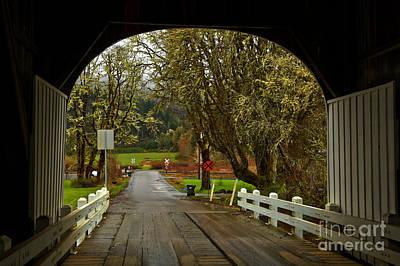Wren Photograph - Rural Wren Oregon by Adam Jewell