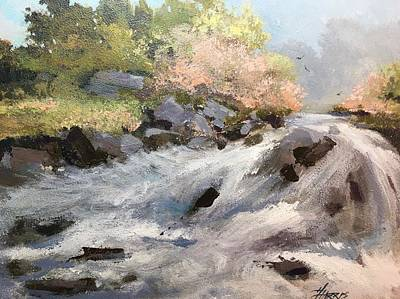 Painting - Rush by Helen Harris