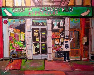 Russ And Daughters New York Original by Michael Litvack