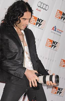 Lincoln Center Photograph - Russell Brand At Arrivals For 48th New by Everett