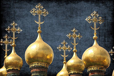 Russian Icon Photograph - Russian Icons by Paula St James