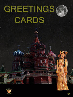 Moscow Mixed Media - Russian World Fashion  by Eric Kempson