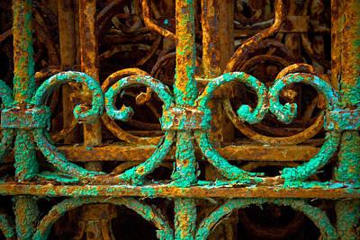 Patina Digital Art - Rusted Gates by Craig Perry-Ollila