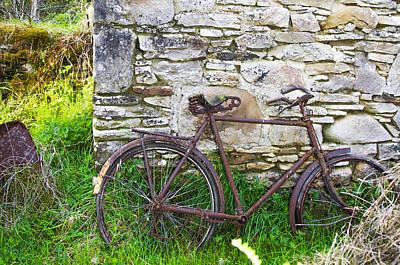 Potato Digital Art - Rusted Roots - County Sligo Ireland by Bill Cannon