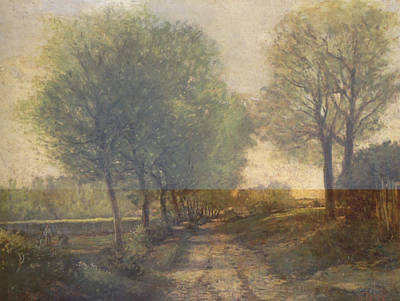 Rustic 12 Sisley Print by David Bridburg
