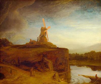 Windblown Digital Art - Rustic 9 Rembrandt by David Bridburg