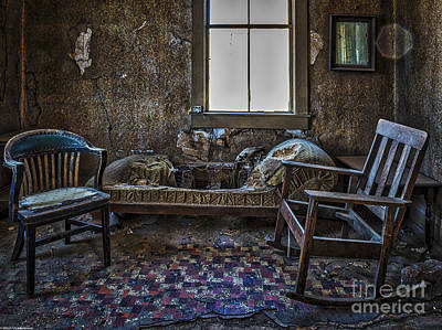 Rustic Accommodations Print by Mitch Shindelbower