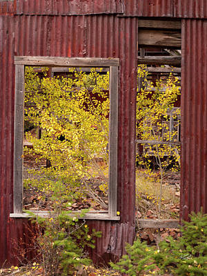 Rustic Autumn Print by Leland D Howard