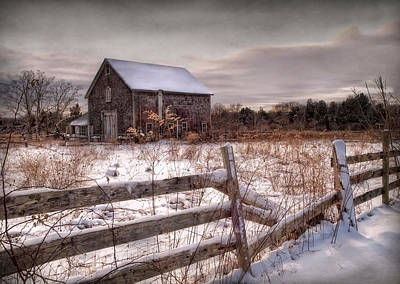 Lee Winter Photograph - Rustic Chill by Robin-lee Vieira