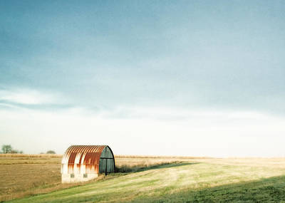 Noise Photograph - Rustic Fields by Todd Klassy