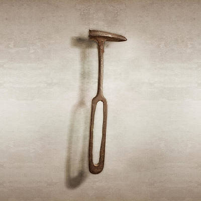 Hammer Photograph - Rustic Hammer by YoPedro