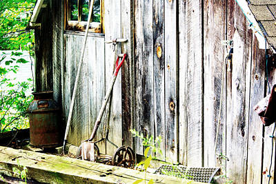 Rustic Shed Print by Paul Wash