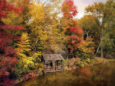 Autumn Landscape Photograph - Rustic Splendor by Jessica Jenney