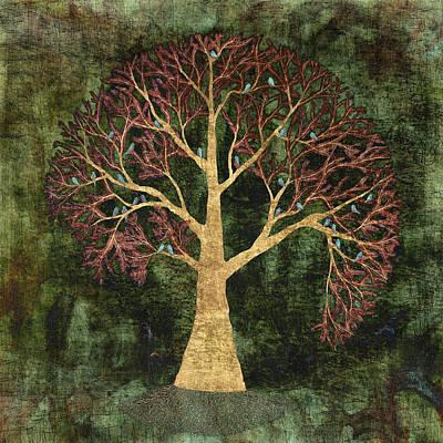 Tree Roots Digital Art - Rustic Tree by Sumit Mehndiratta