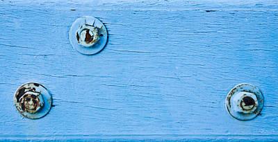 Safeguard Photograph - Rusty Bolts by Tom Gowanlock