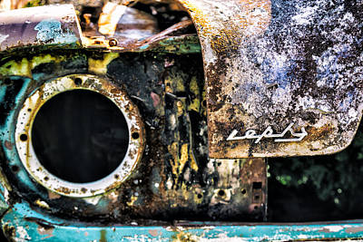 Automobile Photograph - Rusty Ford Prefect by Russ Dixon