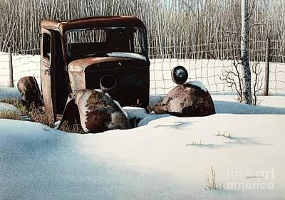 Rusty In Alberta Original by Robert Hinves