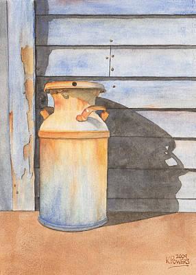 Rusty Milk Print by Ken Powers