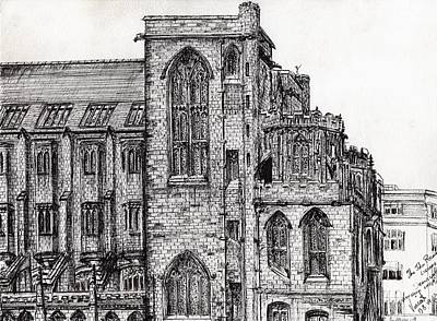 Rylands Library Print by Vincent Alexander Booth
