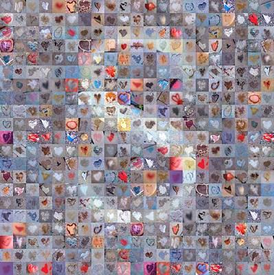 Digital Art - S In Confetti by Boy Sees Hearts
