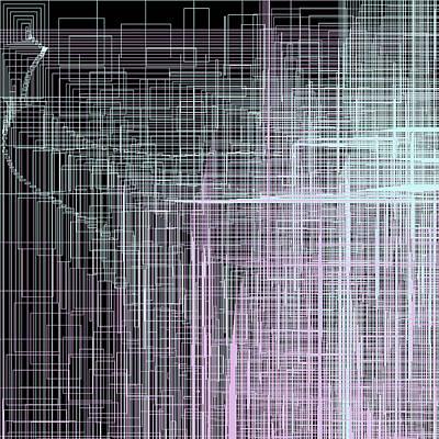 Series Digital Art - S.4.36 by Gareth Lewis